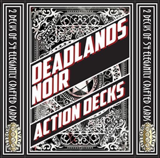 Deadlands Noir: Card Decks (2 x 54-card)