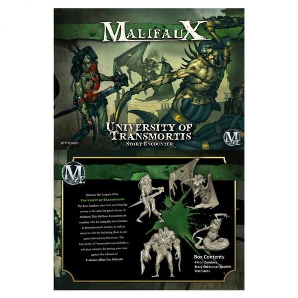 Malifaux: The University Of Transmortis