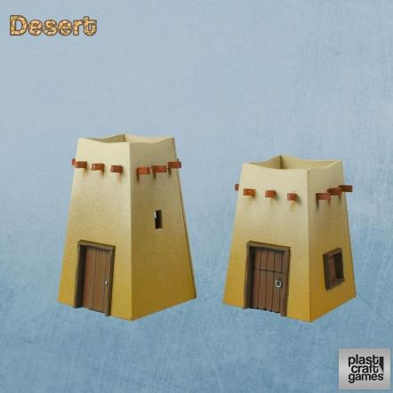 28mm Desert: Desert Command Post 04