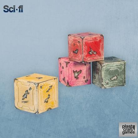 28mm Scifi: Scifi Crates