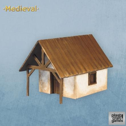 28mm Medieval: Medieval Small House