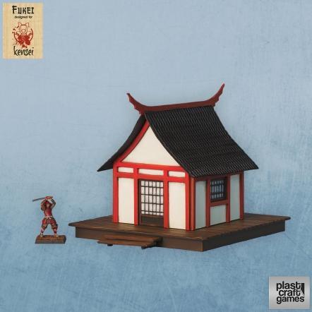 28mm Kensei Terrain: Fukei Building 1