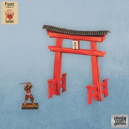 28mm Kensei Terrain: Torii