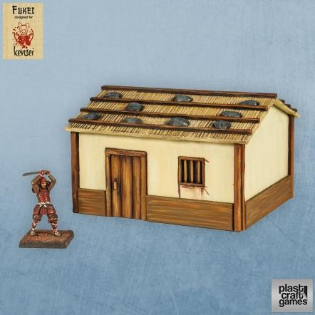 28mm Kensei Terrain: Country Dwelling 01