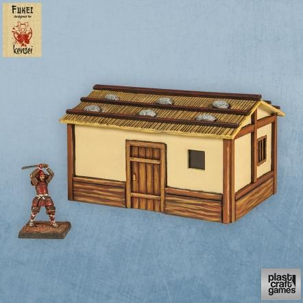 28mm Kensei Terrain: Country Dwelling 03