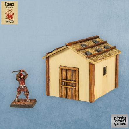 28mm Kensei Terrain: Country Dwelling 04