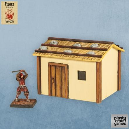 28mm Kensei Terrain: Country Dwelling 05