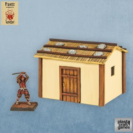 28mm Kensei Terrain: Country Dwelling 06