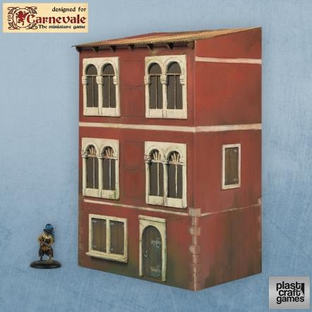 28mm Carnevale Terrain: Three - Strory Building