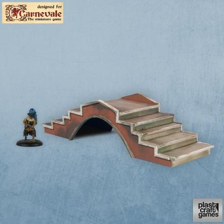 28mm Carnevale Terrain: Venetian Bridge 03