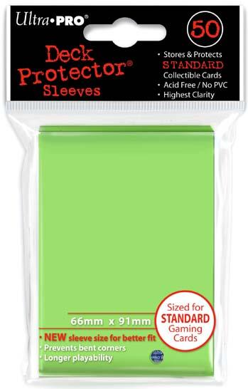 Ultra-Pro Sleeves: Lime Green Deck Protectors (50)
