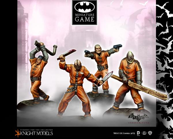 Batman Miniature Game: Blackgate Prisoners