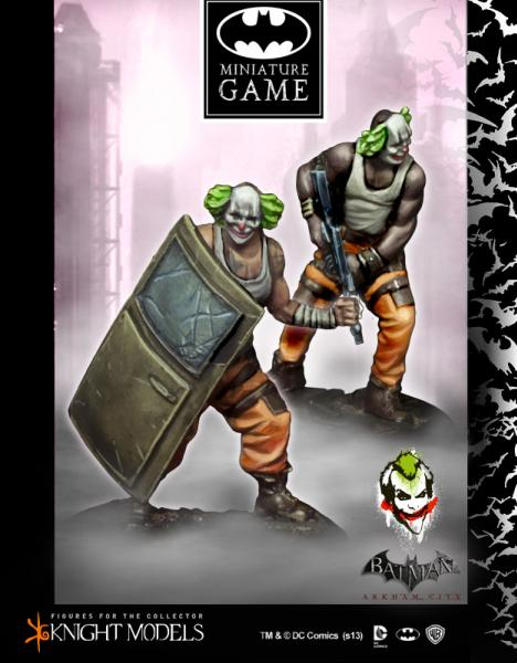 Batman Miniature Game: Joker's Clowns Set 2