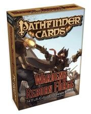 Pathfinder RPG: (Campaign Cards) Wardens Of The Reborn Forge