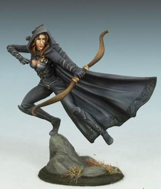 Visions In Fantasy: Female Rogue w/Bow