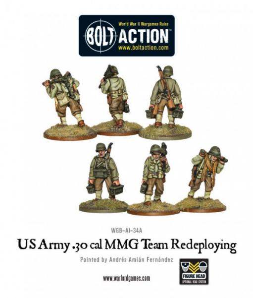 Bolt Action: (USA) Army 30cal MMG team
