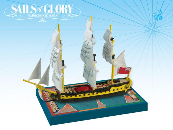 Sails of Glory - British: HMS Impetueux 1796/HMS Spartiate 1798 Ship Pack