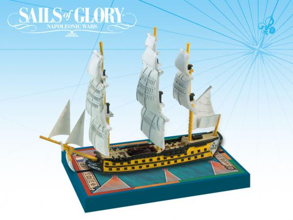 Sails of Glory - French: Commerce de Bordeaux 1785/Duguay-Trouin 1788 Ship Pack