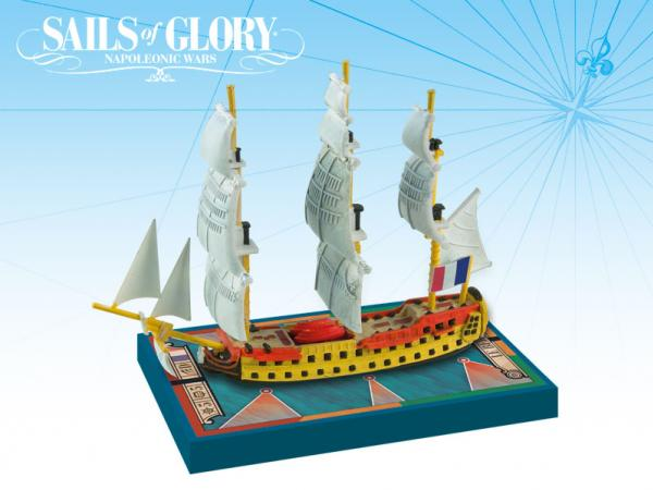 Sails of Glory - French: Le Berwick 1795/Le Switsure 1801 Ship Pack