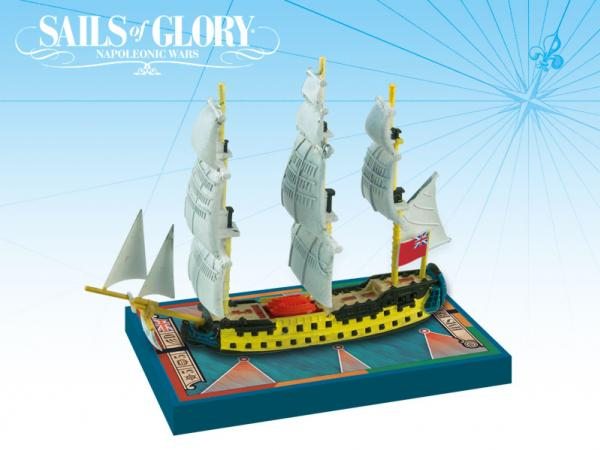 Sails of Glory - British: HMS Bellona 1760/HMS Goliath 1781 Ship Pack