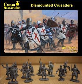 Caesar Miniatures: Dismounted Crusaders