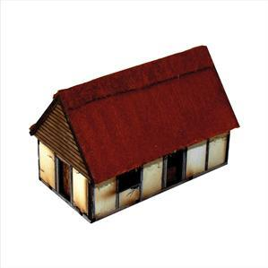 15mm Dark Age/Medieval Terrain: Anglo Danish Dwelling
