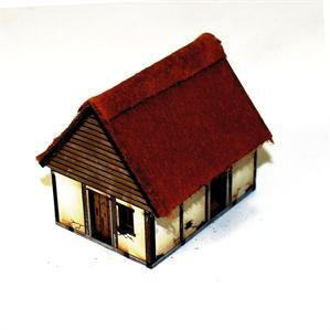 15mm Dark Age/Medieval Terrain: Anglo Danish Hovel