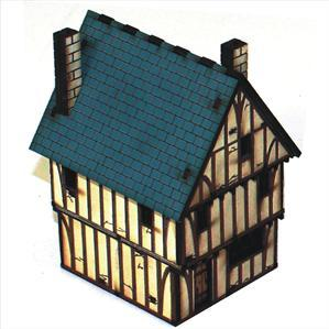 15mm ECW/Renaissance Terrain: Timber Framed Shop