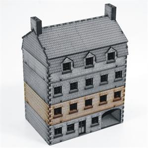 15mm European Buildings: Stone Hotel Add-on