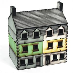 15mm European Buildings: Semi Detached Type 1 Add-on
