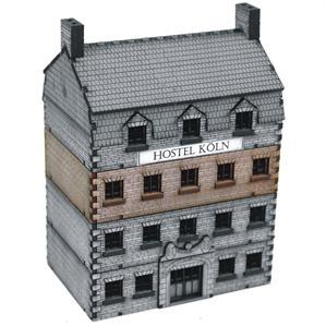 15mm European Buildings: Grand Stone Hotel Add-on