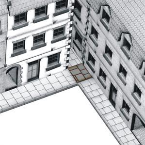 15mm Terrain & Obstacles: Internal Path Corners