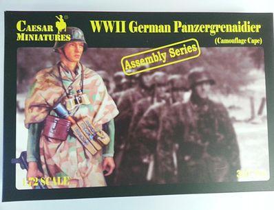 Caesar Miniatures: Panzer Grenadier Camouflage Cape Infantry