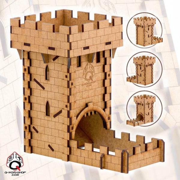 Dice Towers: Human Dice Tower