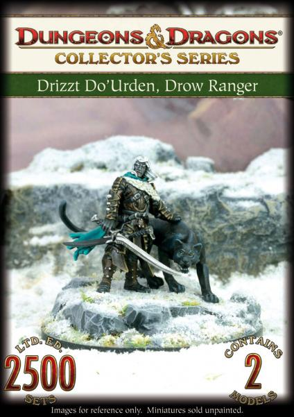 D&D Collector's Series: Sundering Book 1 - Drizzt Do'Urden & Guenhwyvar