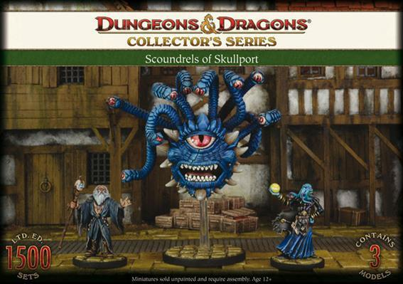 D&D Collector's Series: Skullport - Halister, Xanathar & Illithid