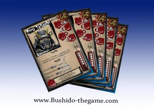 Bushido Miniatures: (Prefecture Of Ryu) Cards