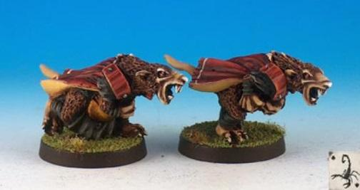 Fantasy Football Miniatures: Vermin Runners