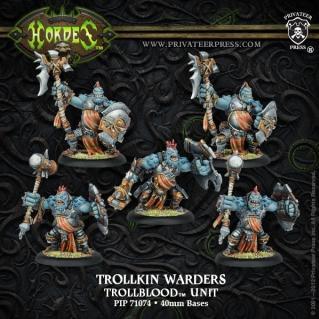 (Trollbloods) Warders (5)