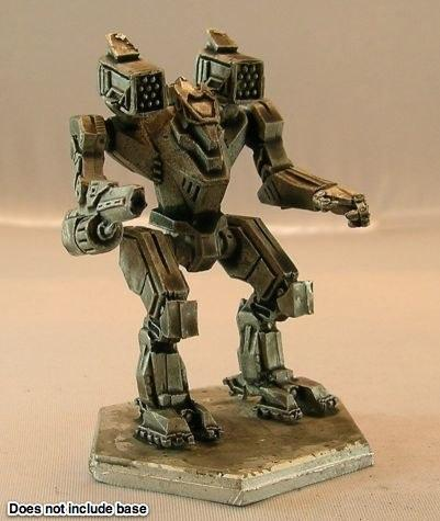 BattleTech Miniatures: Dark Age Warwolf Mech (TRO 3145 Clan Wolf)