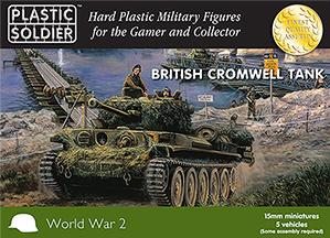 15mm WWII (British): Cromwell Tank