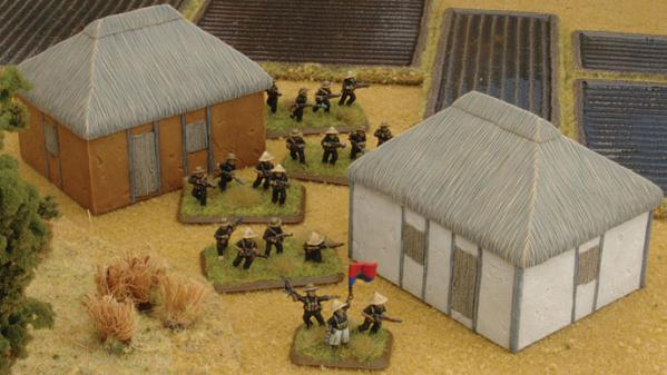 Battlefield in a Box: European House -  Vietnamese Huts