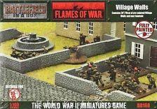 Battlefield in a Box: European House - Village Walls