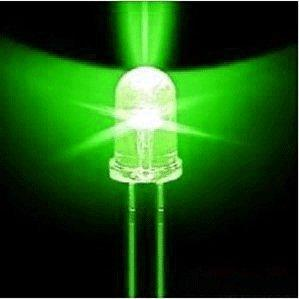 Miniature LED Strings: Green Color Pack