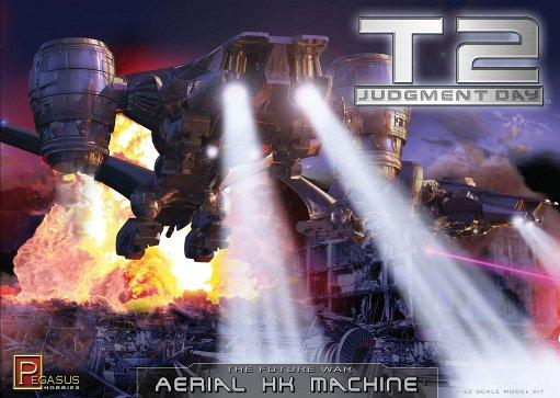 1/32 Scale: Terminator 2 Aerial Hunter Killer Machine