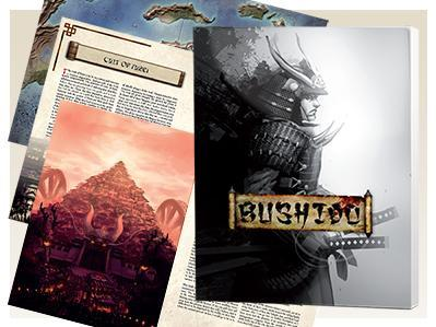 Bushido Miniatures: New Dawn Rulebook