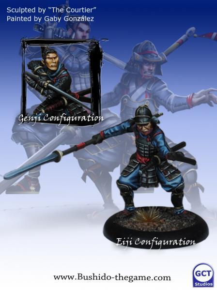 Bushido Miniatures: (Prefecture Of Ryu) Genji/Eiji