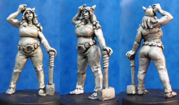 Hasslefree Miniatures: Tilda, Female Gaul