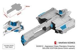 Spartan Scenics: Aggressor Class Planetary Dropship [DELUXE EDITION]