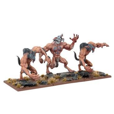 Kings Of War - Undead: Werewolves (3)